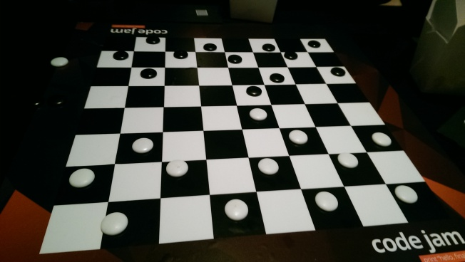 [Badly setup checkerboard]
